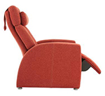 The Positive Posture Luma Fabric Zero  Gravity Recliner