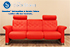 Stressless Metropolitan 3 Seat Sofa in Paloma Tomato Leather