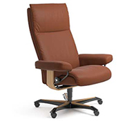 Stressless Aura Recliner Chair - Office Desk Chair Base
