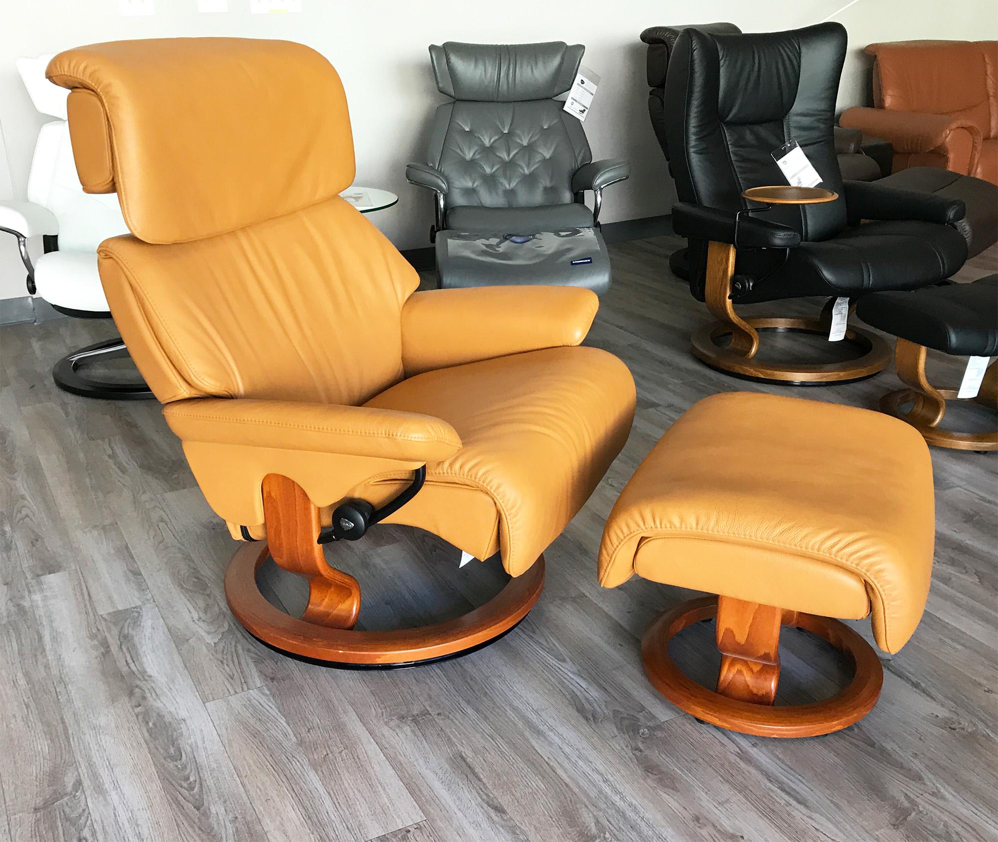 Cool Stressless Spirit Large Dream Cori Tan Leather Recliner Chair And Ottoman By Ekornes Lamtechconsult Wood Chair Design Ideas Lamtechconsultcom