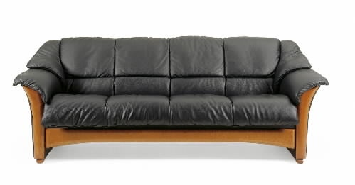 Ekornes oslo leather ergonomic sofa couch loveseat and for Paloma leather sofa