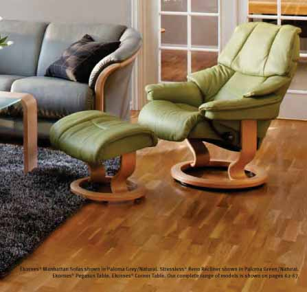 Brilliant Stressless Paloma Green Leather By Ekornes Stressless Ocoug Best Dining Table And Chair Ideas Images Ocougorg