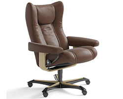 Stressless Wing Office Desk Chair Recliner