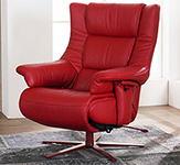 Himolla Opus ZeroStress Integrated Recliner Chair - 8500-36S