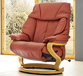 Himolla Palena ZeroStress Integrated Recliner Chair - 85047-12D