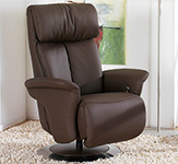 Himolla Sinatra ZeroStress Integrated Recliner Chair - 8527-36N