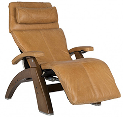 Human Touch PC-610 Omni-Motion Power Perfect Chair Recliner Sycamore Premium Leather