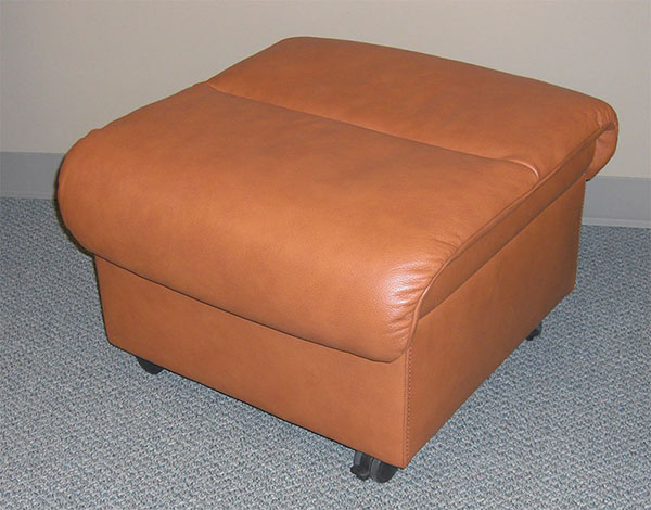 Stressless Royalin TigerEye Leather Ottoman