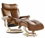 Stressless Magic Medium Recliners Chairs Stressless Recliner by Ekornes