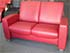 Stressless Arion Low Back 2 Seat LoveSeat Paloma Cherry Leather