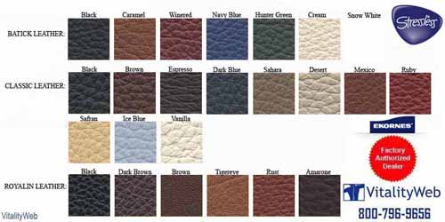 Stressless Cori Leather Colors