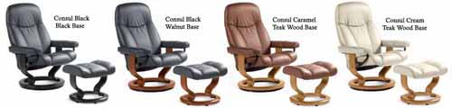 Stressless Batick Leather Black,Caramel and Cream